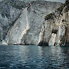 Rugged coastline of Zakynthos by tarsia