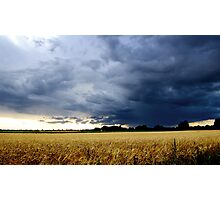 Thunderstorm in England Photographic Print