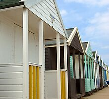 Beach Huts by gfairbairn