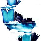 WATERFALL MURAL by vinn