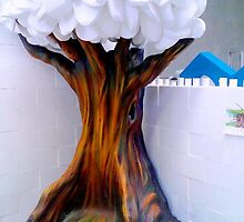Sculpted tree by vinn