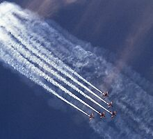 Aircraft that thrill us at Airshows  by Bev Pascoe