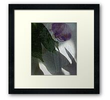 me in Abstract Framed Print