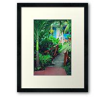 St. Vincent bridge Framed Print
