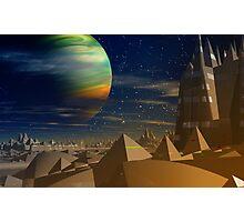 Pyramidia. Photographic Print