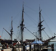 HMB Endeavour Port Macquarie IV by Gary Kelly