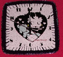 Betty Time On A Rug by Linda Miller Gesualdo