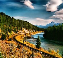 Rail Road Tracks by Jenn Shiels