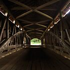 Old Mill Covered Bridge by Mark Heller