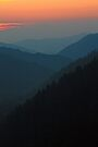 DUSK,MORTON  OVERLOOK by Chuck Wickham