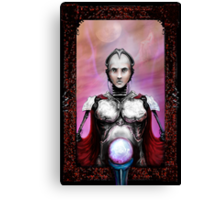 robotic clairvoyant.  Canvas Print