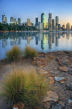 Brisbane City. by David James