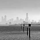 Melbourne Skyline #2 by Mark Boyle