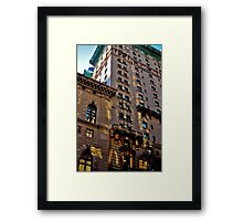 A Look at an Old New Yorker II Framed Print