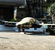 Cessna A-37 Dragonfly (Super Tweet) - Saigon War Museum by Bev Pascoe