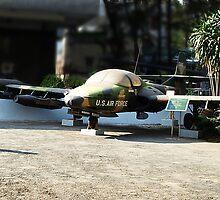 Cessna A-37 Dragonfly (Super Tweet) - Saigon War Museum by Bev Pascoe
