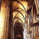 Depths of religion, Cathdrale Notre-Dame by doreeN Zhang