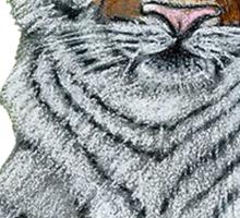 Hilary  Robinsons tigers paw  Sticker