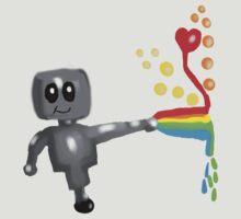 Rainbow Robot  by Rajee