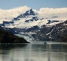 Johns Hopkins Glacier by Olga Zvereva