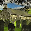 St. Michael's Church - Llanfihangel y Pennant by SimplyScene