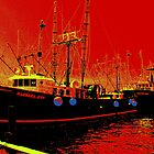 Fishing Boats, Point Judith, RI, USA by mooner1