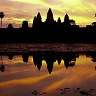 Angkor at Dawn by Darren Kearney