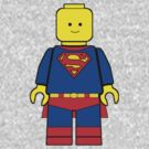 Superman - Lego Minifig by redsushi1