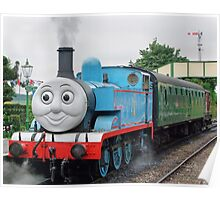Thomas Waits For His Passengers ! Poster