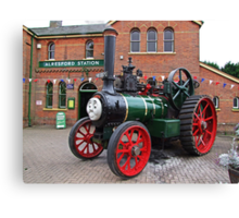 """""""Trevor"""" The Traction Engine Canvas Print"""