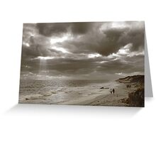 Winters Afternoon At Burns Beach Western Australia Greeting Card