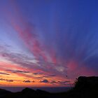 Cornwall: It's That Sky Again at Boscastle by Rob Parsons