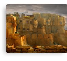 Lone Woman of Jaisalmer Canvas Print