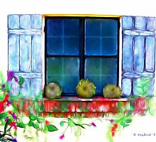 The Window by Kay  G Larsen