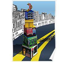 City Blocks Poster