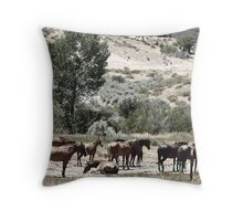 THE GRAZING Throw Pillow
