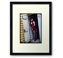 Dub, Be Good To Me Framed Print