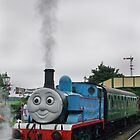 Thomas in Steam by Colin J Williams Photography