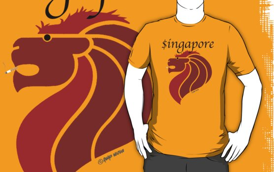 Singapore (light shirt) by Ronald Wigman