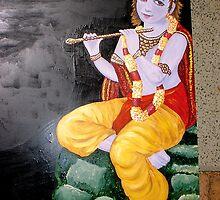 Hari Krishna Menu Board 02 by robertemerald