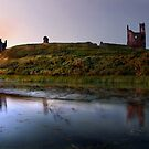 Dunstanburgh Sunset by Bootkneck