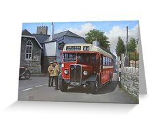 Devon General AEC Regal Greeting Card