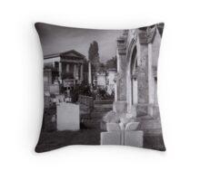 Kensal Green Cemetery. Throw Pillow