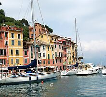Beautiful Portofino, Italia by Ralph Angelillo