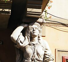 Statuette in Sibiu by costy33