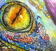 Lizard Eye by BevsArtCreation