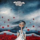 my mind may wander....but my heart stays in place by Amanda  Cass