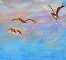 three seaguls by kellimays