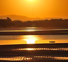 Sunset at Nudgee by bidjara