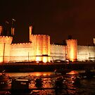 Caernarfon Castle, North Wales. UK by AnnDixon